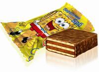 конфеты вафельные Вафельный Боб